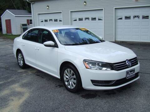 2012 Volkswagen Passat for sale at DUVAL AUTO SALES in Turner ME