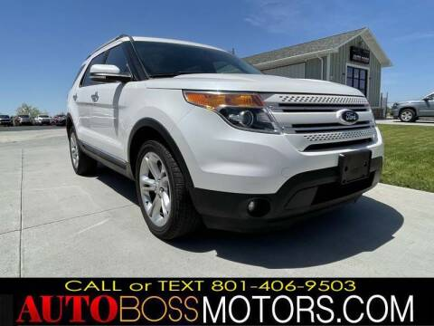 2015 Ford Explorer for sale at Auto Boss in Woods Cross UT