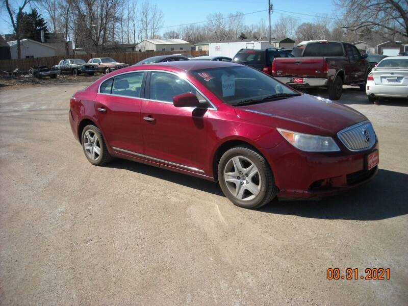 2010 Buick LaCrosse for sale at Ron Lowman Motors Minot in Minot ND