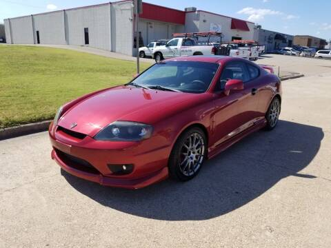 2005 Hyundai Tiburon for sale at Image Auto Sales in Dallas TX