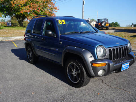 2003 Jeep Liberty for sale at Crestwood Auto Sales in Swansea MA