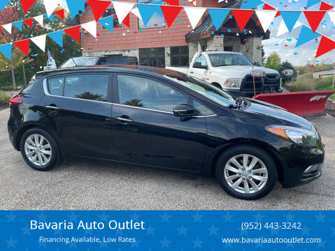 2015 Kia Forte5 for sale at Bavaria Auto Outlet in Victoria MN