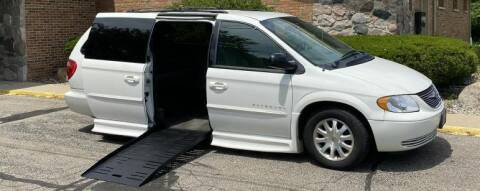 2003 Chrysler Town and Country for sale at Mobility Motors LLC - A Wheelchair Van in Battle Creek MI