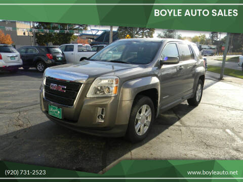 2010 GMC Terrain for sale at Boyle Auto Sales in Appleton WI