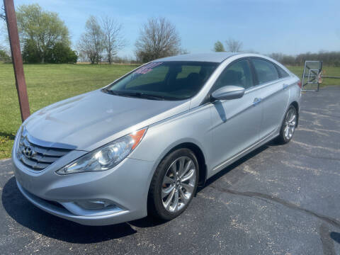 2011 Hyundai Sonata for sale at EAGLE ONE AUTO SALES in Leesburg OH