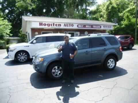 2012 Ford Escape for sale at HOGSTEN AUTO WHOLESALE in Ocala FL