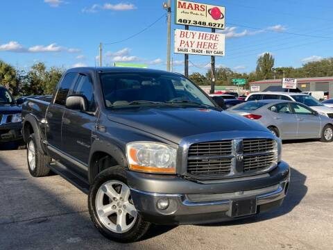 2006 Dodge Ram Pickup 1500 for sale at Mars auto trade llc in Kissimmee FL