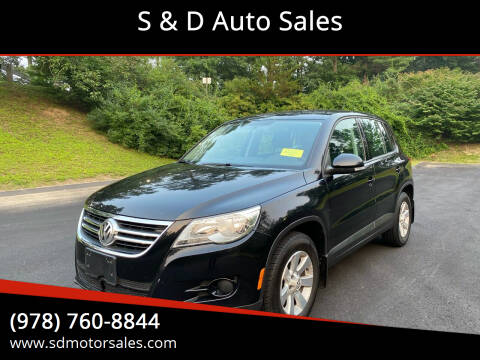 2010 Volkswagen Tiguan for sale at S & D Auto Sales in Maynard MA