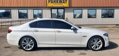 2015 BMW 5 Series for sale at Parkway Motors in Springfield IL