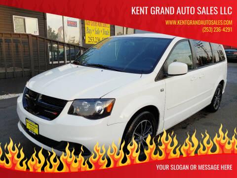 2014 Dodge Grand Caravan for sale at KENT GRAND AUTO SALES LLC in Kent WA