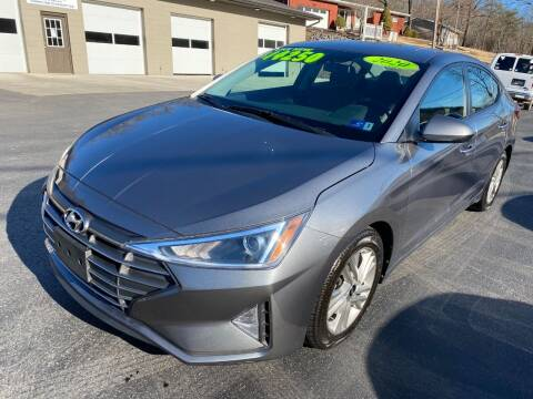 2020 Hyundai Elantra for sale at Route 28 Auto Sales in Ridgeley WV
