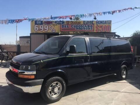 2009 Chevrolet Express Passenger for sale at DEL CORONADO MOTORS in Phoenix AZ