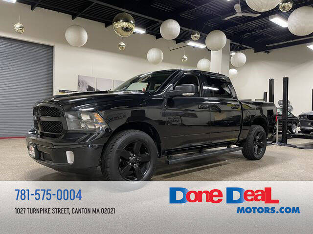 2018 RAM Ram Pickup 1500 for sale at DONE DEAL MOTORS in Canton MA