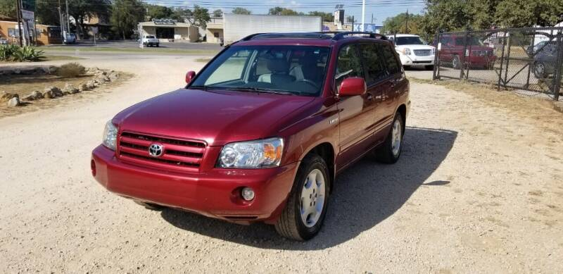 2004 Toyota Highlander for sale at STX Auto Group in San Antonio TX