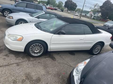2004 Chrysler Sebring for sale at Auto Consider Inc. in Grand Rapids MI