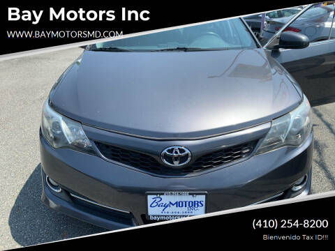 2014 Toyota Camry for sale at Bay Motors Inc in Baltimore MD