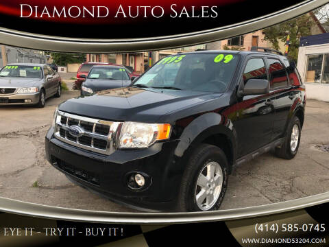 2009 Ford Escape for sale at Diamond Auto Sales in Milwaukee WI