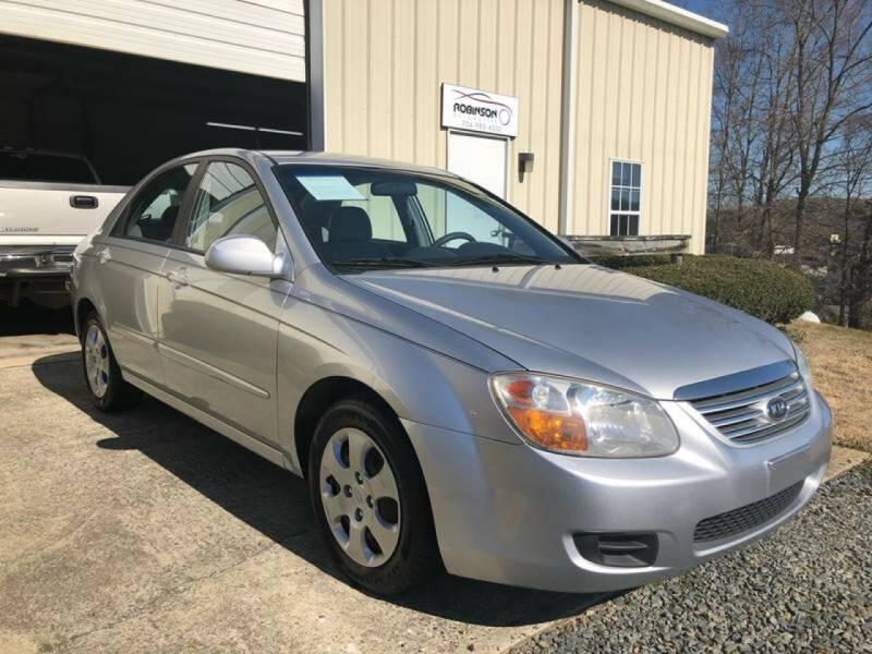 2007 Kia Spectra for sale at Robinson Automotive in Albemarle NC