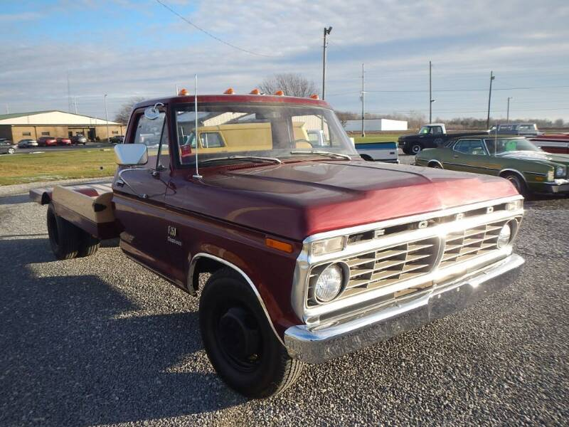 1974 Ford F37 PLATFORM for sale at Custom Rods and Muscle in Celina OH