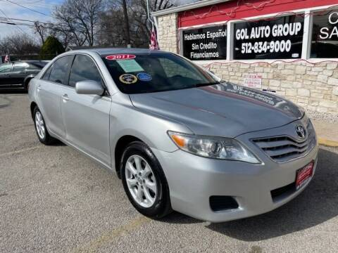 2011 Toyota Camry for sale at GOL Auto Group in Austin TX