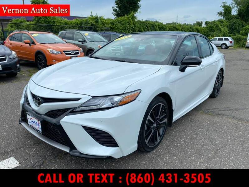 2018 Toyota Camry for sale in Vernon Rockville, CT