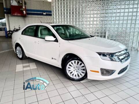 2012 Ford Fusion Hybrid for sale at iAuto in Cincinnati OH