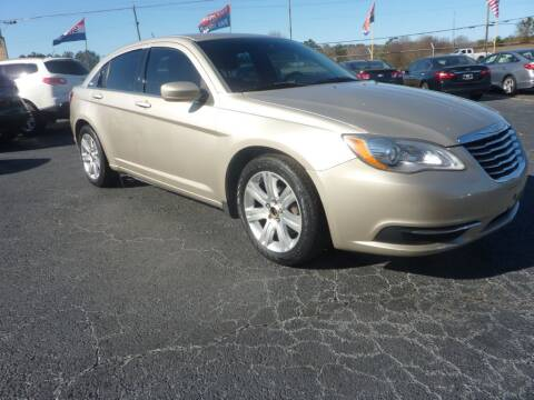 2013 Chrysler 200 for sale at Roswell Auto Imports in Austell GA
