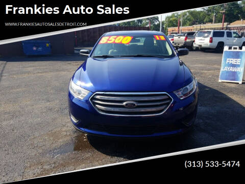 2013 Ford Taurus for sale at Frankies Auto Sales in Detroit MI