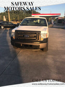 2014 Ford F-150 for sale at Safeway Motors Sales in Laurinburg NC