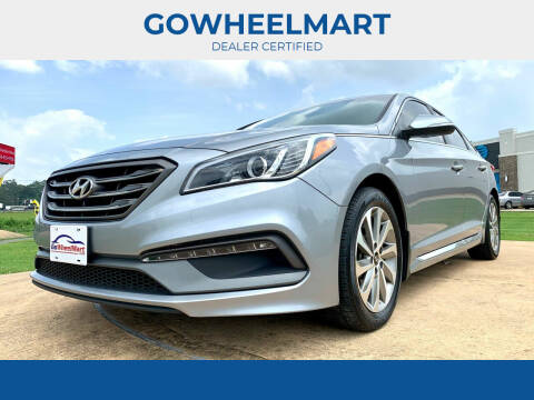 2017 Hyundai Sonata for sale at GOWHEELMART in Leesville LA
