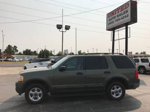 2003 Ford Explorer for sale at United Auto Sales in Oklahoma City OK