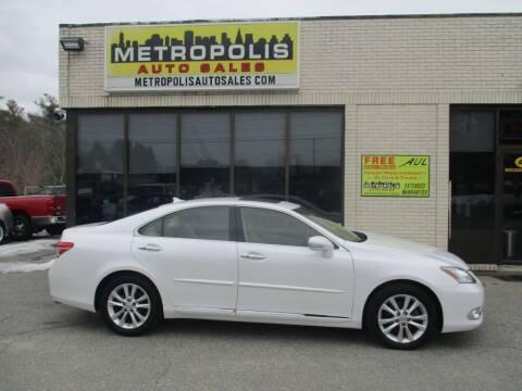 2012 Lexus ES 350 for sale at Metropolis Auto Sales in Pelham NH