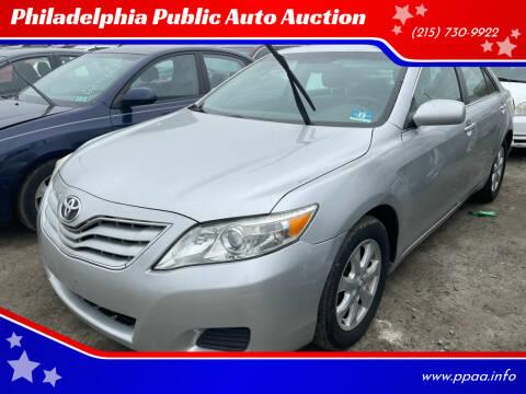 2011 Toyota Camry for sale at Philadelphia Public Auto Auction in Philadelphia PA