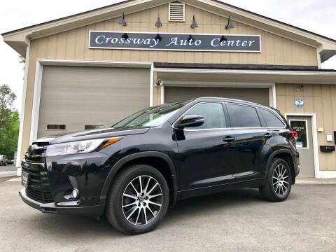 2018 Toyota Highlander for sale at CROSSWAY AUTO CENTER in East Barre VT