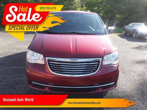2013 Chrysler Town and Country for sale at Discount Auto World in Morris IL
