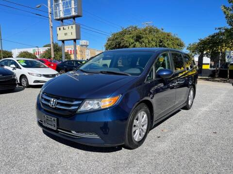 2016 Honda Odyssey for sale at Autohaus of Greensboro in Greensboro NC