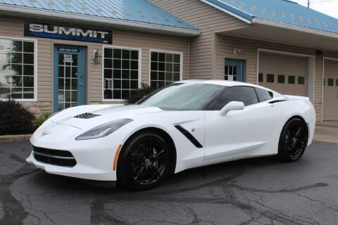 2016 Chevrolet Corvette for sale at Summit Motorcars in Wooster OH