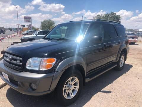 2004 Toyota Sequoia for sale at Senor Coche Auto Sales in Las Cruces NM