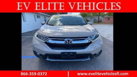 2017 Honda CR-V for sale at EV ELITE VEHICLES in St. Petersburg FL