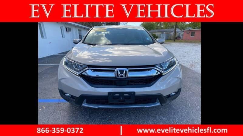 2017 Honda CR-V for sale at EV ELITE VEHICLES in Saint Petersburg FL