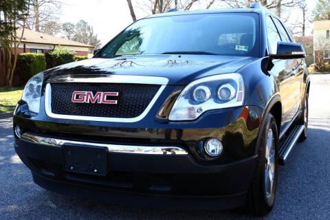 2011 GMC Acadia for sale at Prime Auto Sales LLC in Virginia Beach VA