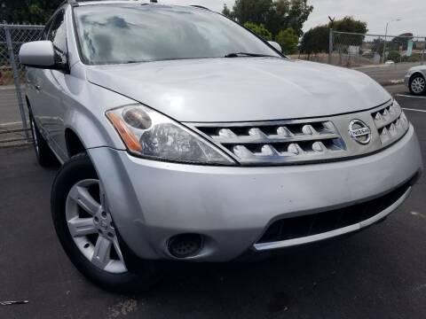 2006 Nissan Murano for sale at Trini-D Auto Sales Center in San Diego CA