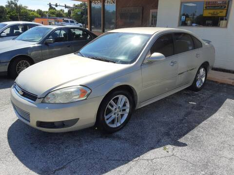2010 Chevrolet Impala for sale at Easy Credit Auto Sales in Cocoa FL