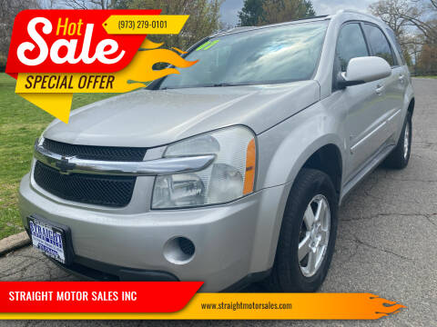 2007 Chevrolet Equinox for sale at STRAIGHT MOTOR SALES INC in Paterson NJ