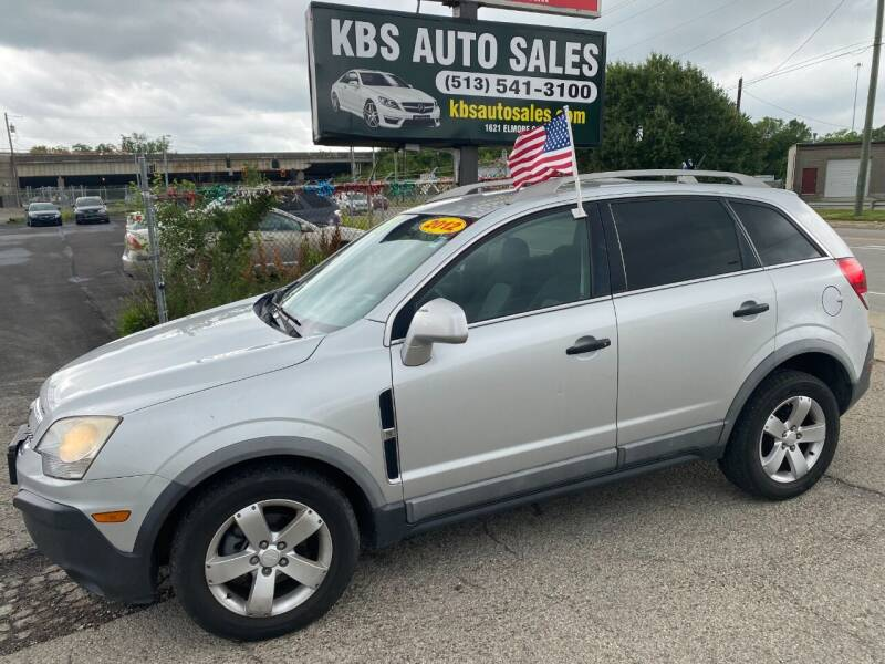 2012 Chevrolet Captiva Sport for sale at KBS Auto Sales in Cincinnati OH