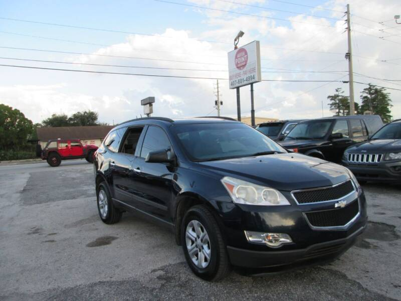 2012 Chevrolet Traverse for sale at Motor Point Auto Sales in Orlando FL