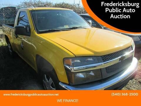 2007 Chevrolet Colorado for sale at FPAA in Fredericksburg VA