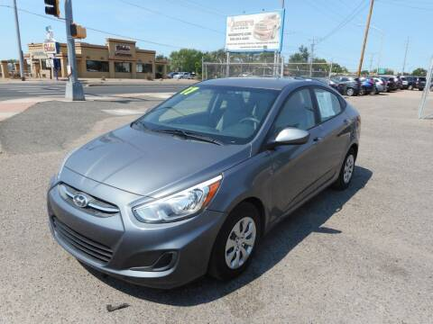 2017 Hyundai Accent for sale at AUGE'S SALES AND SERVICE in Belen NM