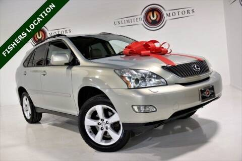 2005 Lexus RX 330 for sale at Unlimited Motors in Fishers IN