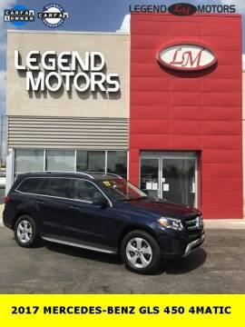 2017 Mercedes-Benz GLS for sale at Legend Motors of Ferndale in Ferndale MI